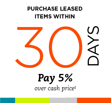 Purchase Leased Items Within 30 Days - TEMPOE Leasing