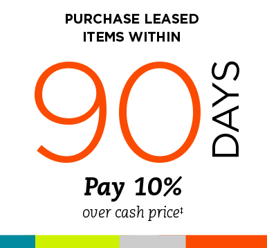 Purchase Leased Items Within 90 Days - TEMPOE Leasing