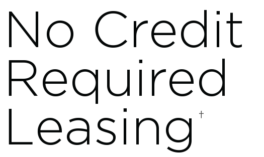 No Credit Required Leasing - TEMPOE