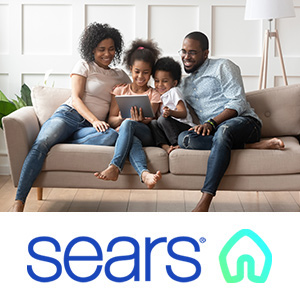 TEMPOE Furniture Leasing - Family on Couch in Living Room